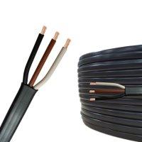Flachkabel 3 x 1,5 mm² Kfz Kabel 3 polig/adrig Meterware