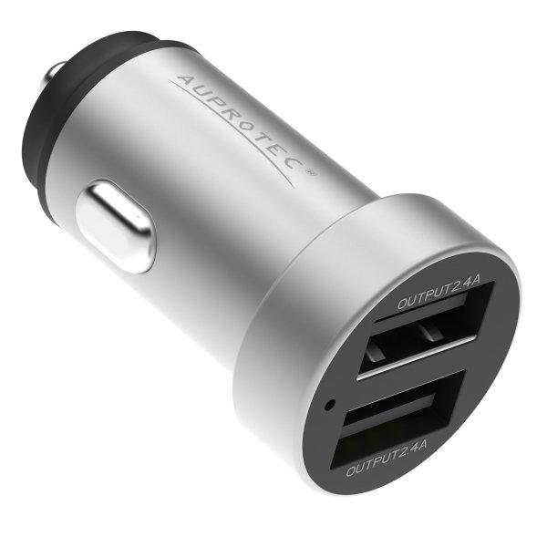 USB Adapter iX-5S Dual Auto Ladegerät 4.8A Zigarettenanzünder