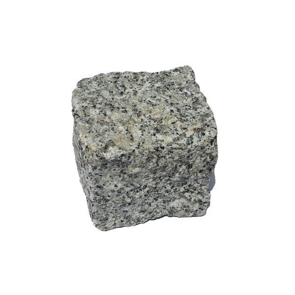 Granit Pflastersteine Naturstein 9/11 grau 1 Tonne