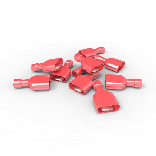 Flachstecker 0,5 - 1,5 mm² Vollisoliert MDFN