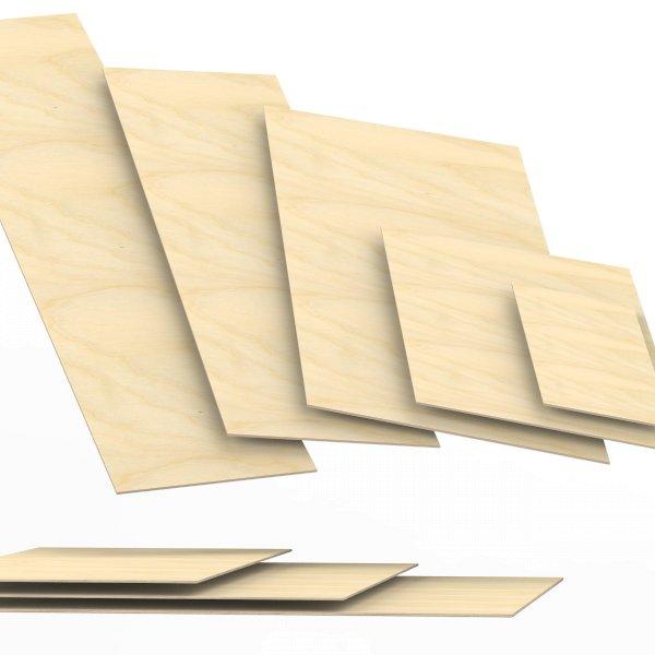 4 mm Sperrholzplatten aus Birke Zuschnitt auf Maß