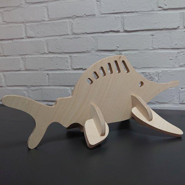 3D Holzbausatz Multiplex Birkenholz Modell Fisch