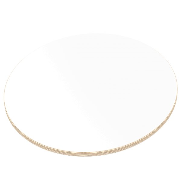 12 mm Multiplex Platten weiß melaminbeschichtet Zuschnitt auf Maß