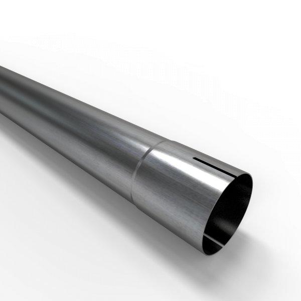 100cm Auspuffrohr universal Ø 58 mm Stahl Auspuff Rohrverlängerung