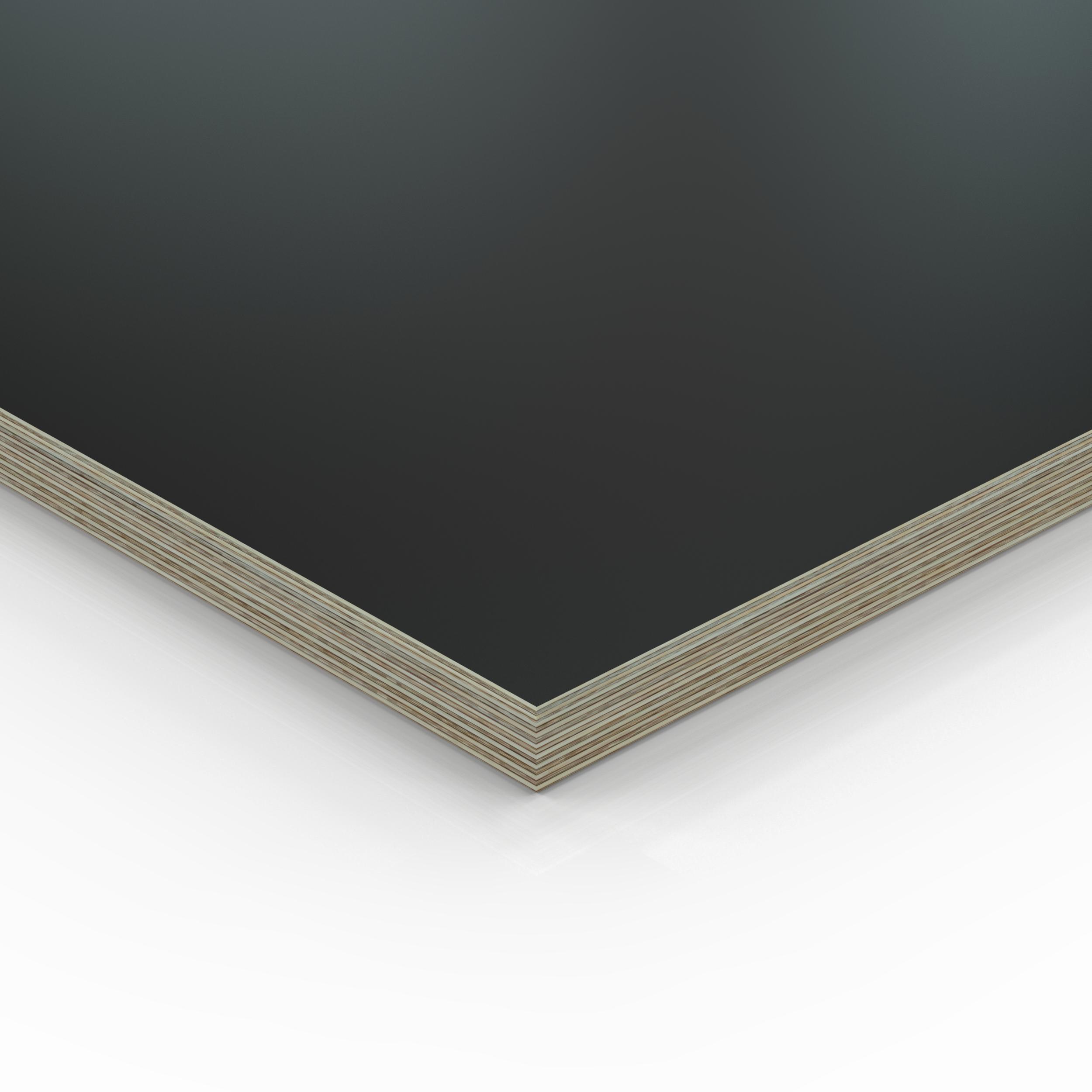 12mm Multiplex Zuschnitt schwarz melaminbeschichtet L/änge bis 200cm Multiplexplatten Zuschnitte Auswahl 60x60 cm