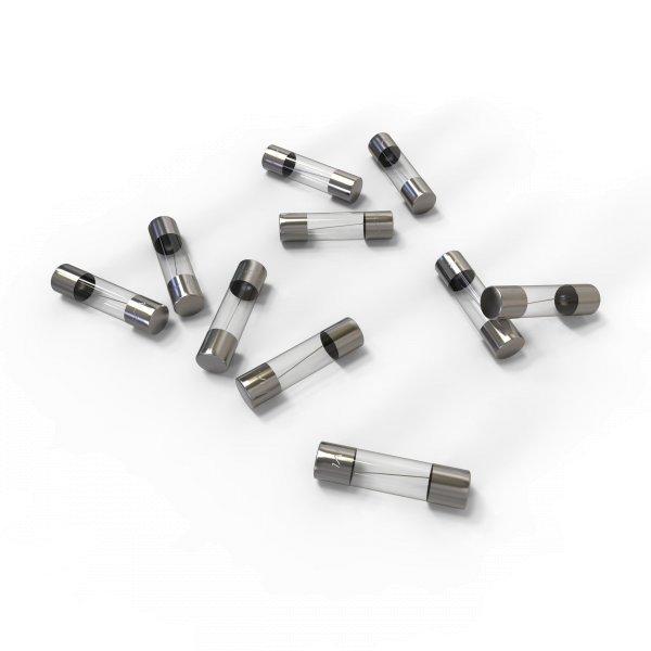 AUPROTEC 10x Glassicherung 5 x 20 mm F 1A