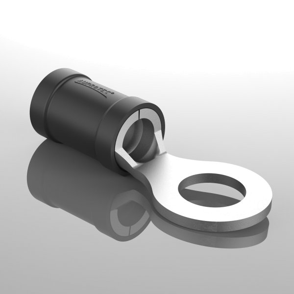 Ringkabelschuhe Teilisoliert schwarz