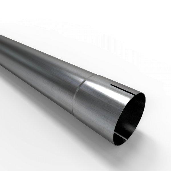 100cm Auspuffrohr universal Ø 65 mm Stahl Auspuff Rohrverlängerung
