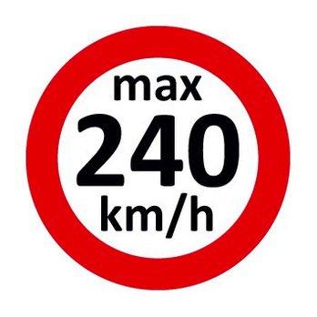 Set Geschwindigkeitsaufkleber 240 km/h nach § 36 StVZO