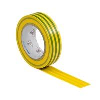 VDE Isolierband Elektriker Klebeband 10m Rolle gelb-gruen