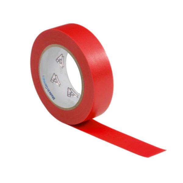 VDE Isolierband Elektriker Klebeband 10m Rolle rot