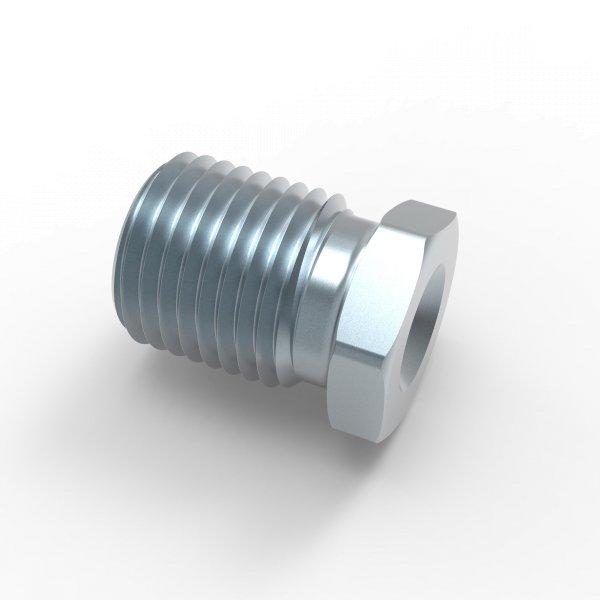 """Verschraubung Bördel E - 1/2""""x20 - Typ PF - Länge 18,0 mm"""