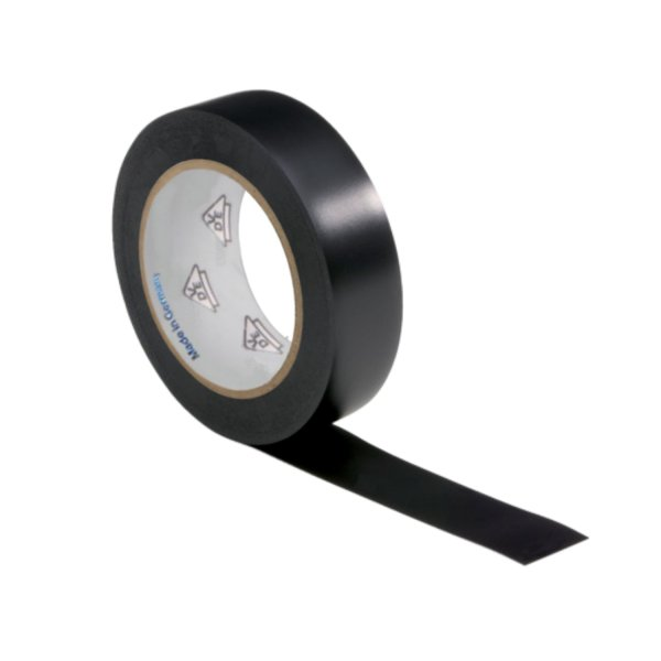 VDE Isolierband Elektriker Klebeband 10m Rolle schwarz