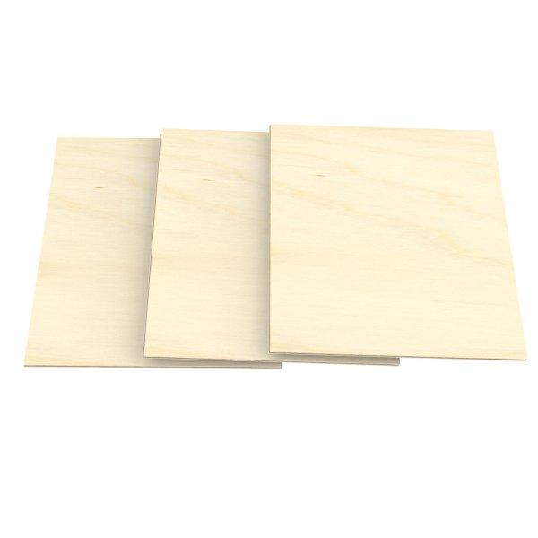 8mm Sperrholz-Platten im Format DIN A5 bis DIN A1