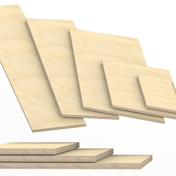 Sonderma/ße ! 50x120cm 15mm starke Siebdruckplatten Multiplexplatten Holzplatten Tischplatten Zuschnitt auf Ma/ß