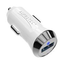 USB Adapter R15 Mini Auto Ladegerät 2.4A weiß
