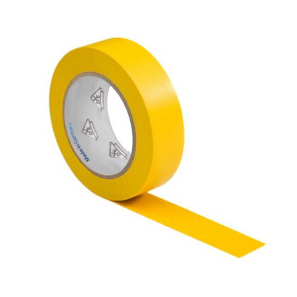 VDE Isolierband Elektriker Klebeband 10m Rolle gelb