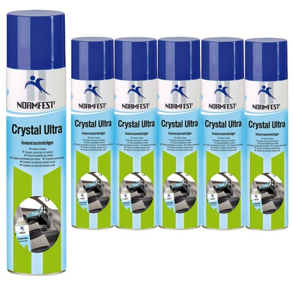 Crystal Ultra Cockpitpflege Auto Innenreiniger Schaum Spray 400ml