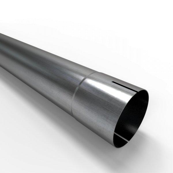 100cm Auspuffrohr universal Ø 70 mm Stahl Auspuff Rohrverlängerung