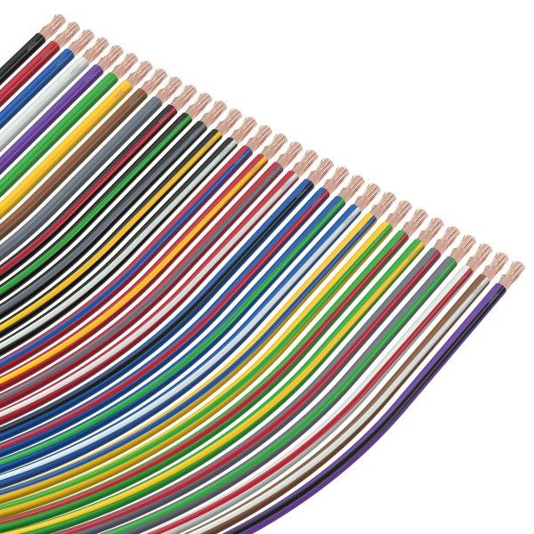 5 FLRYW-B1.50-RD Kfz-Leitun Leitungen FLRYW 1,5mm2 Line rot 60V PVC Cu   Klasse