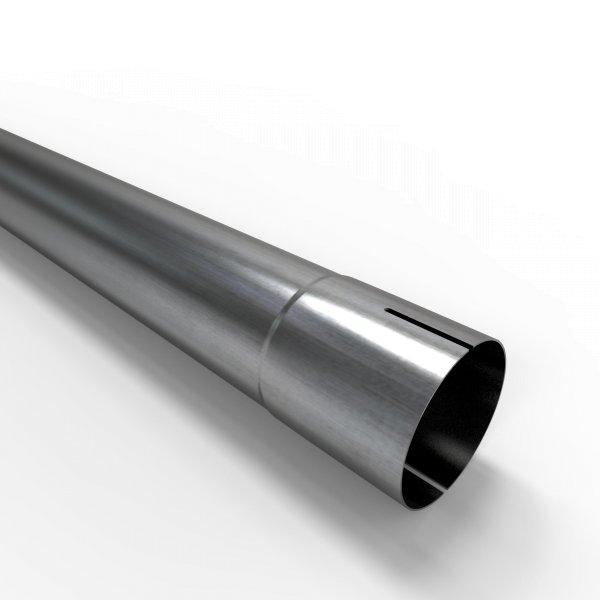 100cm Auspuffrohr universal Ø 60 mm Stahl Auspuff Rohrverlängerung