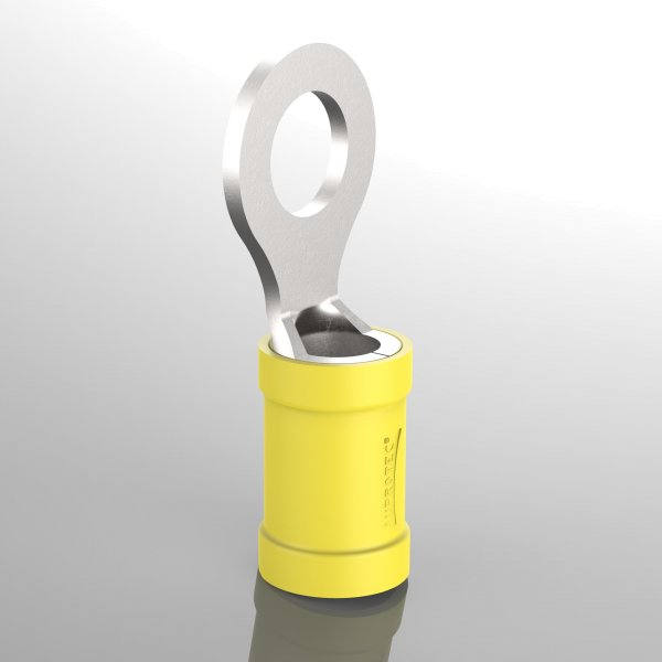 Ringkabelschuhe Teilisoliert gelb