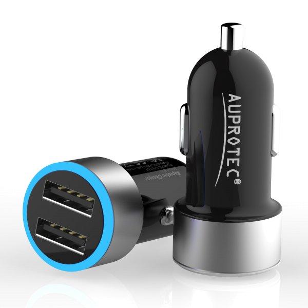USB Adapter R18 Dual Auto Ladegerät 4.8A