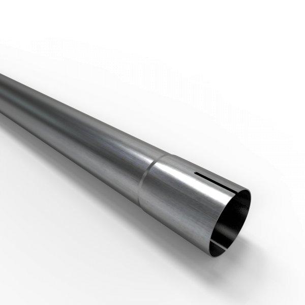 100cm Auspuffrohr universal Ø 48 mm Stahl Auspuff Rohrverlängerung