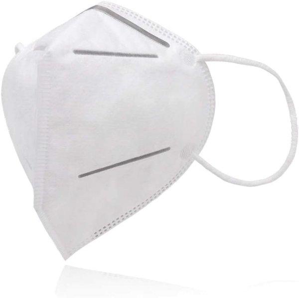 Premium Mehrweg Maske mit innen liegendem Vlies 4 lagig Sehr gut für Mundschutz und Naseschutz