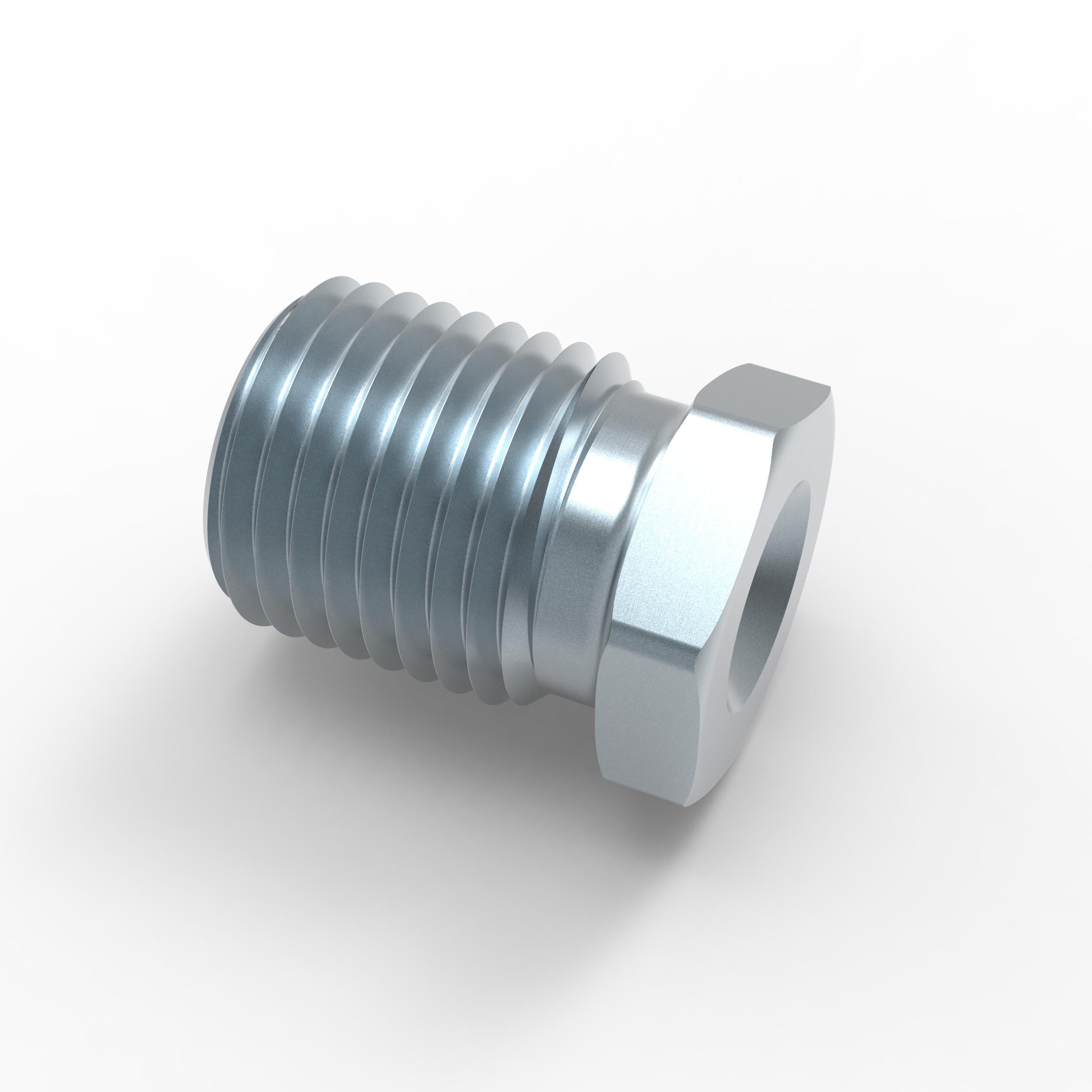 4x Verschraubung M10 x 1,25 f/ür Bremsleitung 4,75 mm B/ördel F Typ L Profi Verbinder DIN//ISO 1651 konform