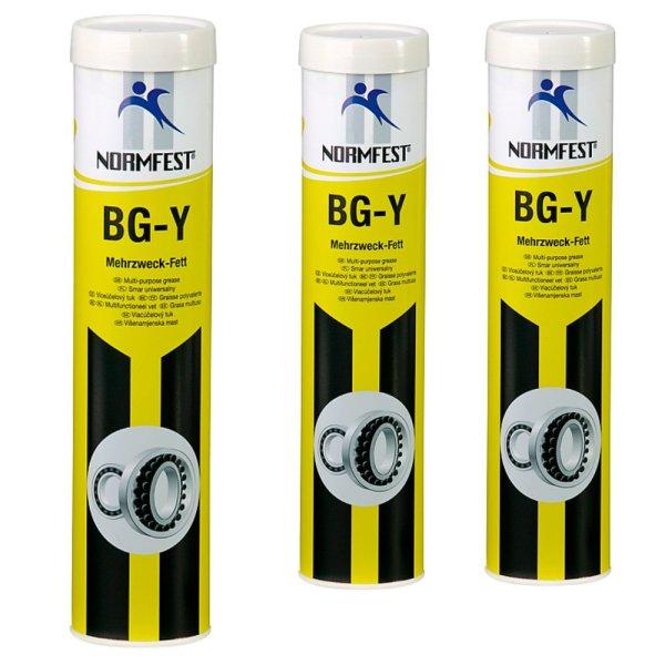 Mehrzweckfett BG-Y Schmierfett Schmierstoff Mehrzweck Fett gelb 400g