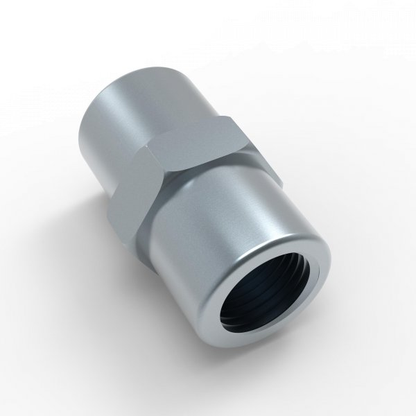 Verbinder Bördel F - M10x1 - Typ OAA - Länge 24,0 mm