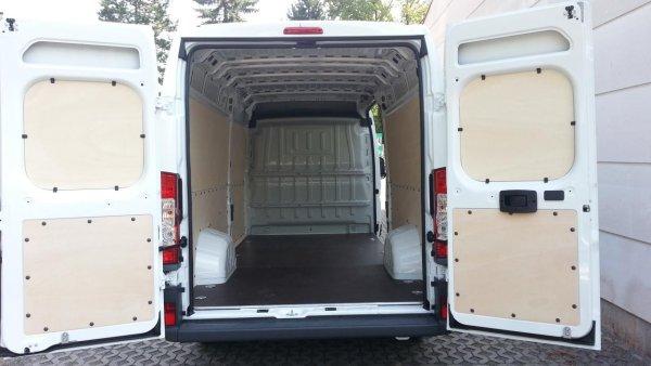 Kompletter Innenausbau inkl. Bodenplatte und Laderaumverkleidung für Citroën Jumper L1 ab 2006